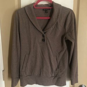 Brown Banana Republic SMALL Sweatshirt w/ Pocket